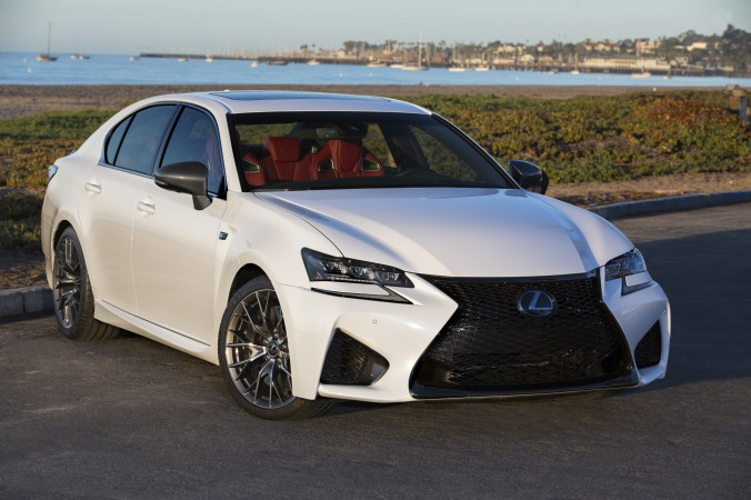 2017 Lexus GS 350 F Sport. (Courtesy Of Lexus)