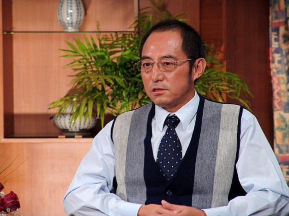 Chinese exile law professor and dissident writer Yuan Hongbing in an undated file photo. (Chen Ming/The Epoch Times)