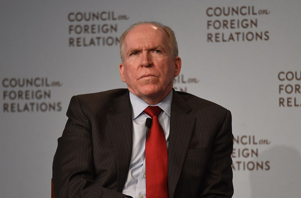Central Intelligence Agency (CIA) Director John Brennan at the Council on Foreign Relations in New York on March 13, 2015. (DON EMMERT/AFP/Getty Images)