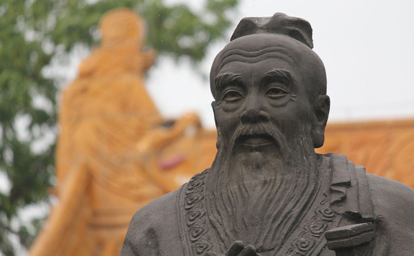 Confucius lived in the State of Lu during the Spring and Autumn Period (770–476 B.C.) in the later part of the Zhou dynasty (approximately from the 11th century B.C. to 221 B.C.) (Image: Kevinsmithnyc via wikimedia / CC BY-SA 3.0)