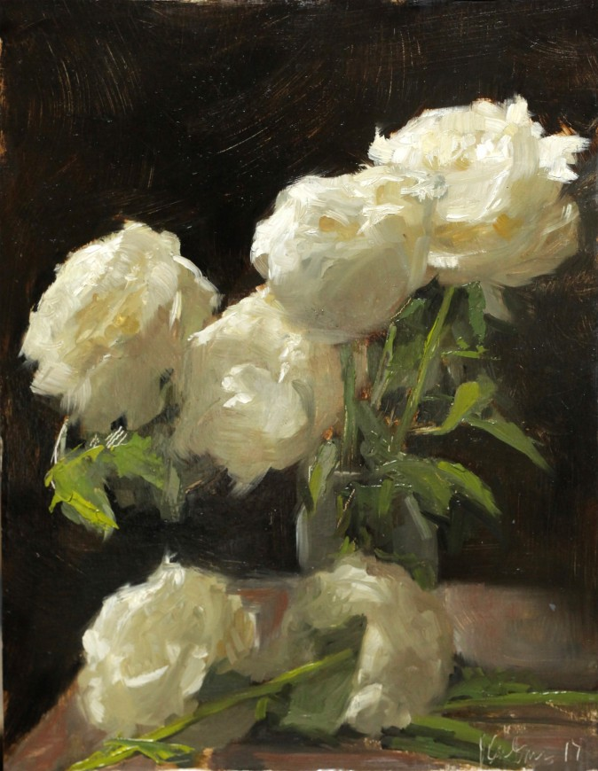 """Peonies,"" by Jessica Artman. (Courtesy of Jessica Artman)"