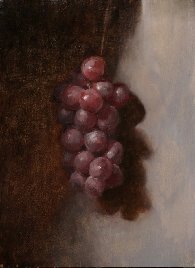 """Alla Prima Grapes,"" by Jessica Artman. (Courtesy by Jessica Artman)"