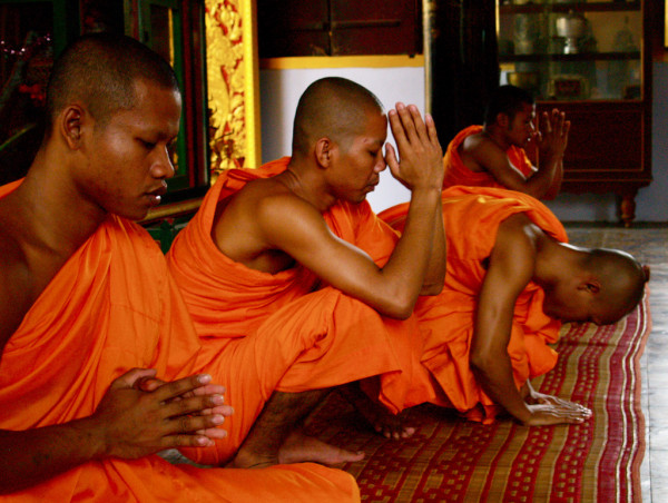 A senior master who was cultivating himself with a few young monks lived in the temple. (Image: via flickr CC BY-SA 2.0)