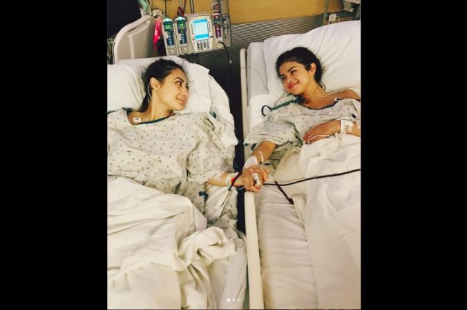 Selena Gomez And Her Best Friend Who Donated A Kidney To Her In A Photo  Posted
