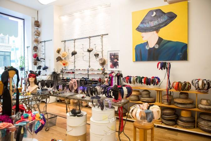 The Jennifer Ouellette studio in New York on Sept. 15, 2017. (Benjamin Chasteen/The Epoch Times)