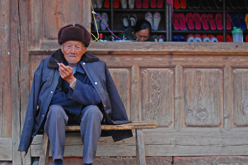 On the 100th birthday of an old man, he looked very unhappy. (Image: timquijano   via   flicker  /  CC BY 2.0 )