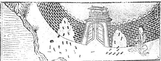 Lady Meng Jiang weeps at the Great Wall. (Image: wikimedia / CC0 1.0)