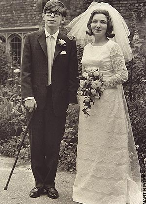 Stephen Hawking and his first wife Jane in 1965. Hawkins, in 1975, became the youngest person to be elected to the Royal Society of London. (Image Credit: billy bob bain;Public Domain )