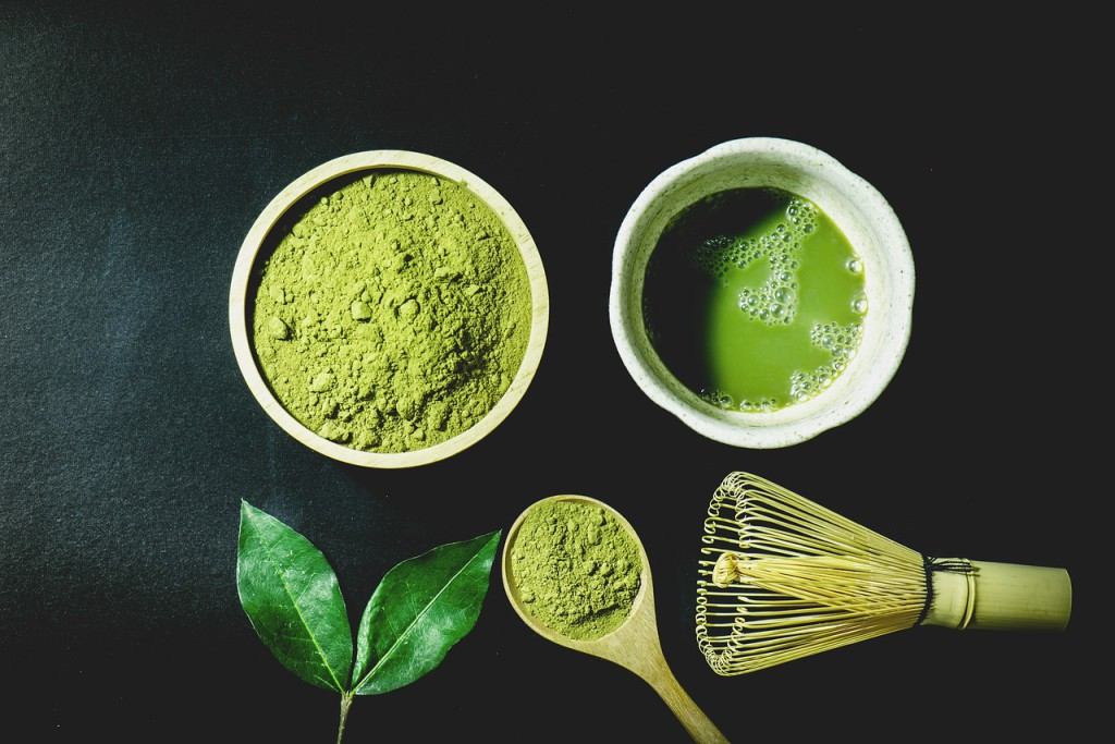 Matcha green tea is high in anti-oxidants and other substances that can have a positive effect on health. (Image: via  pixabay  /  CC0 1.0)