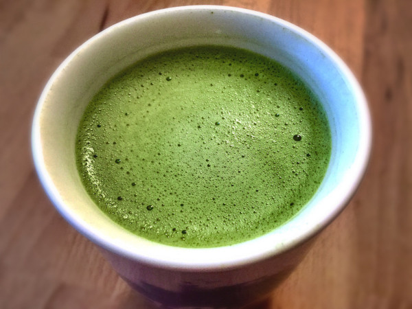 Matcha's brilliant green color comes from chlorophyll. (Image via: NuCastiel Flickr via Compfight cc)
