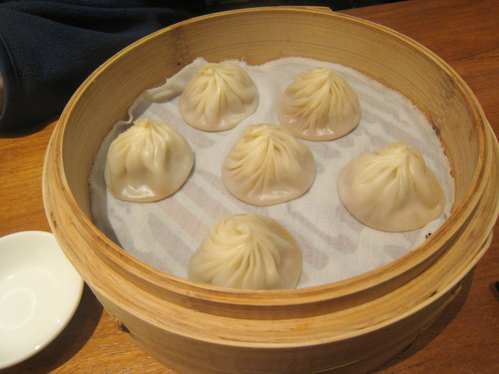 Shanghai Soup Dumplings. (Image:  Charles Hayes via  flickr  CC BY-SA 2.0)